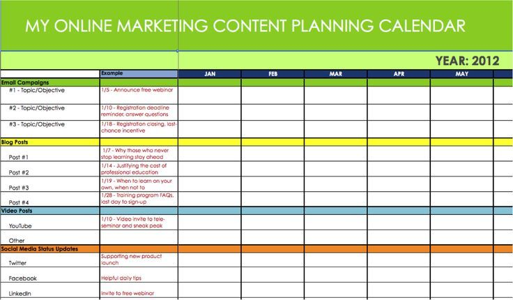 The 8 Best Sales Planning Template Images On Pinterest Calendar