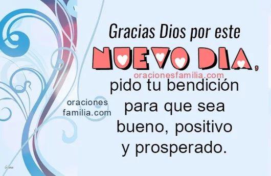 Oración de la Mañana para dar Gracias a Dios
