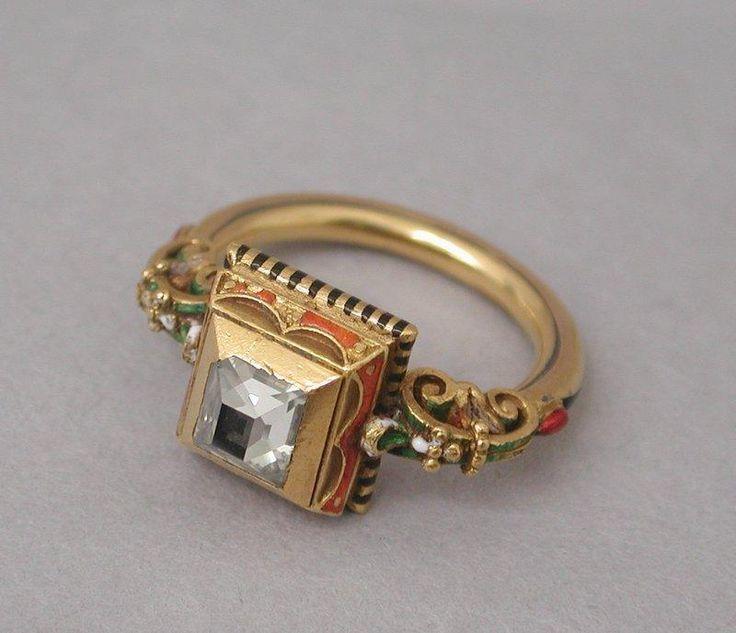 Ring Louis Wièse.  ca. 1890, Renaissance.
