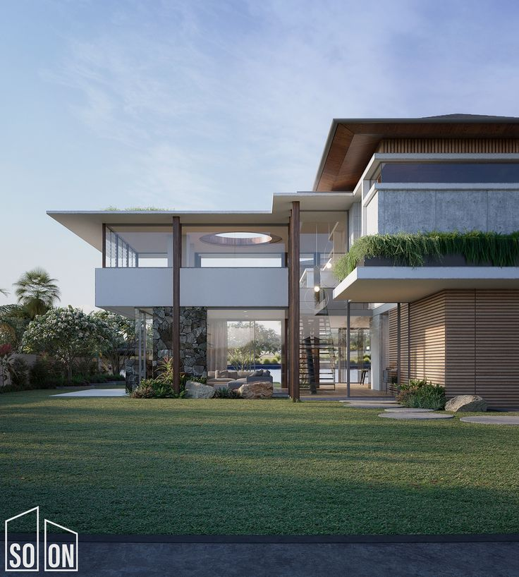We've finished a new set of images for a great new residence to be built in…