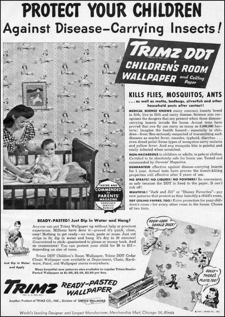 protect your children with... toxic wallpaper?