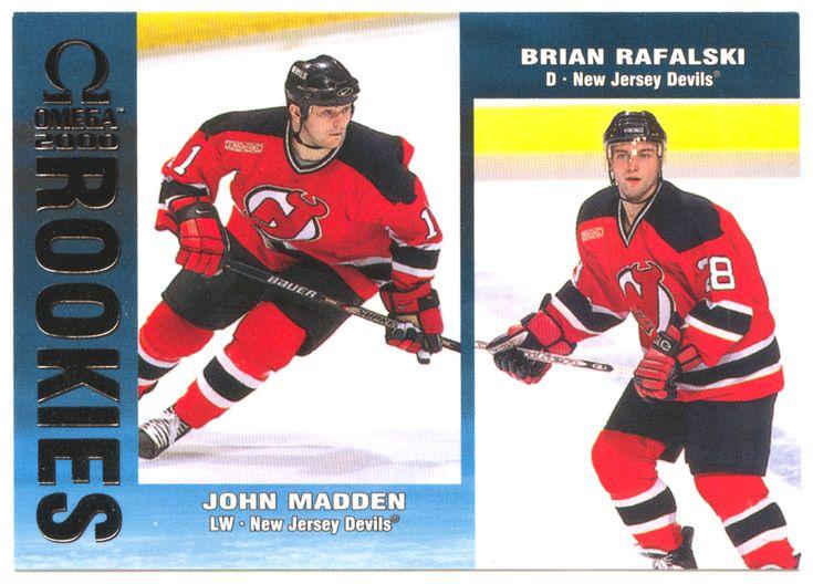 John Madden RC / Brian Rafalski RC # 139 - 1999-00 Pacific Omega Hockey NHL Rookie