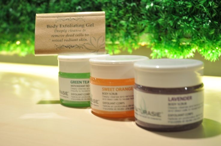 Body Exfoliating Gel in Colors  Pure & Natural ** Deeply Cleanse & remove dead cells to reveal radiant skin.