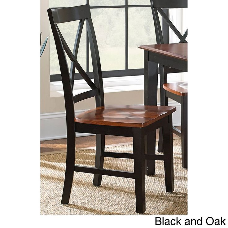13499 Keaton Solid Wood Dining Chair Set