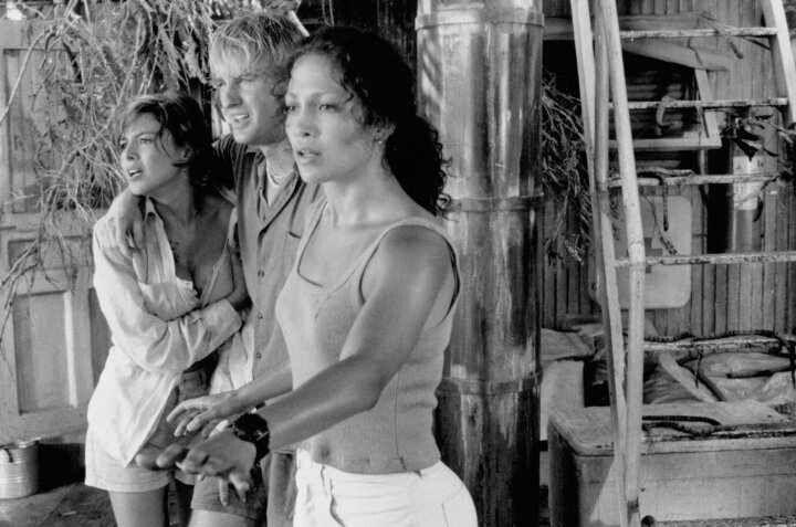 Jennifer Lopez,Owen Wilson,Kari Wuhrer in Anaconda