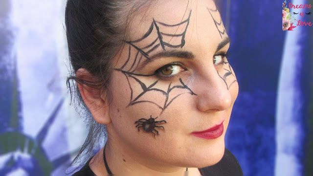 Dreams of Love: Telarañas con Arañas | Halloween Makeup