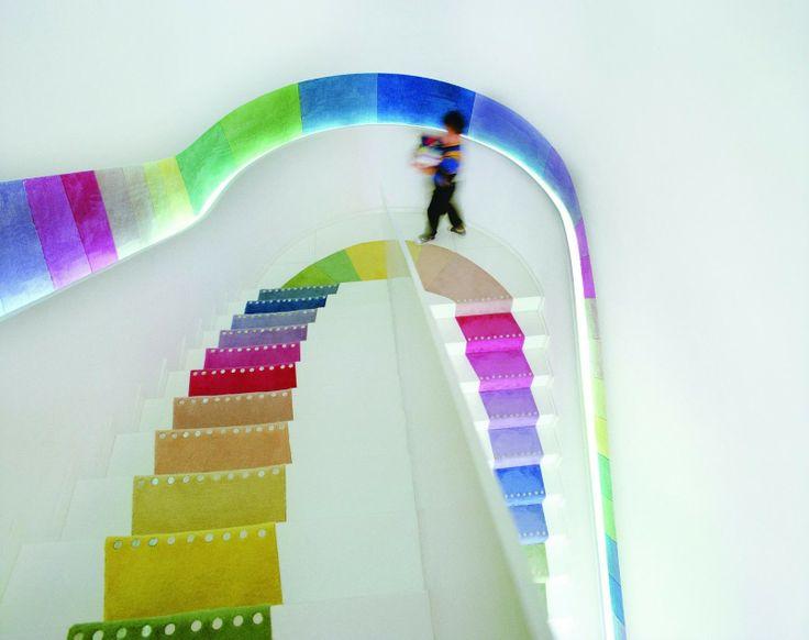 Kids' Republic Bookstore in Beijing, China by Sako Architects