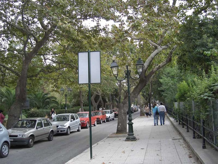 Kifissia, Greece--my uncle is a blacksmith (unfortunately, a dying art) but did much of the iron work that lines the streets of Kifissia