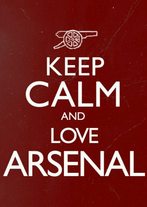 Keep Calm And Love Arsenal