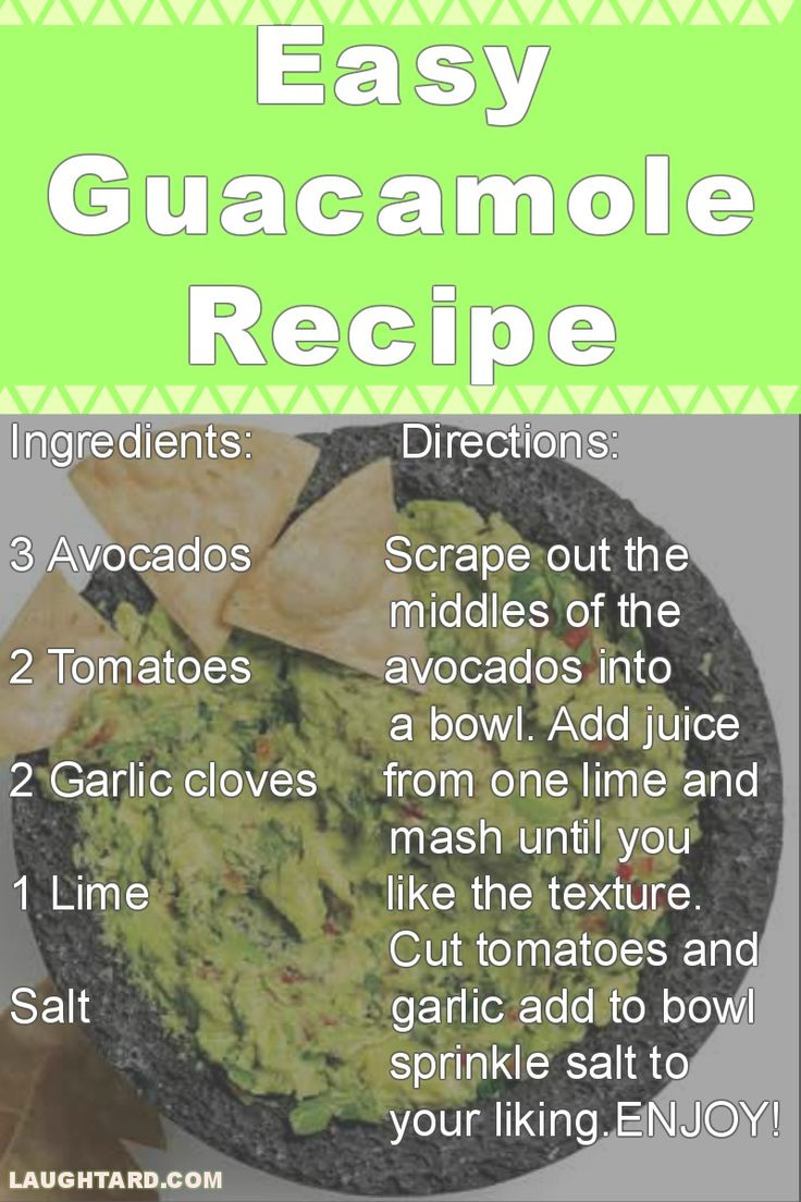 Like if your a fan of Easy 5 Ingredient Guacamole Recipe