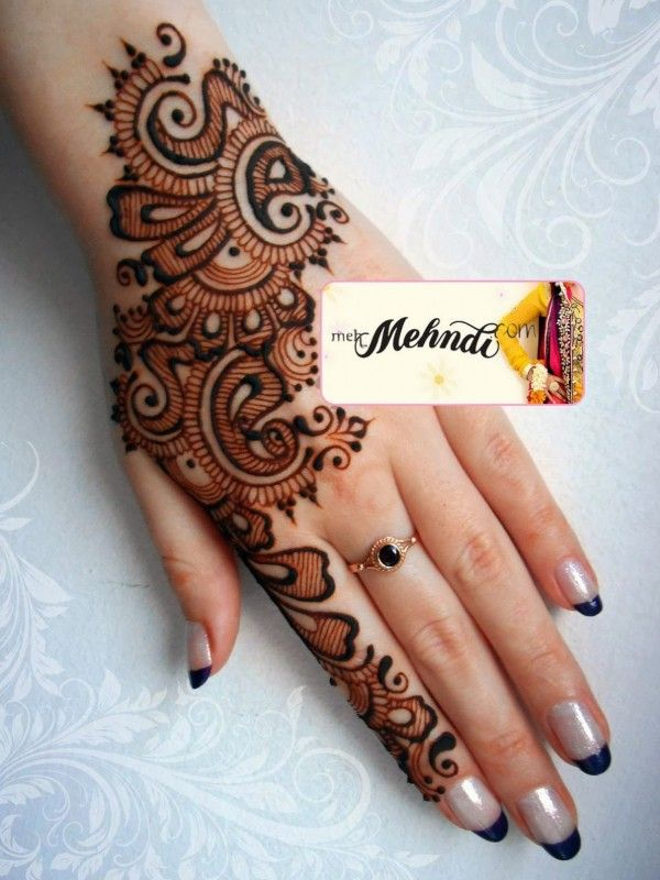 Mehndi Designs For Hands New Updates : The best ideas about latest arabic mehndi designs on