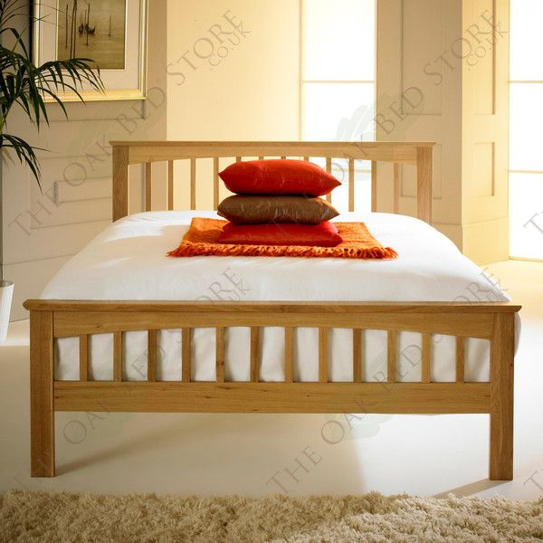 Heywood Solid Oak Bed Frame 5ft - King Size | The Oak Bed Store