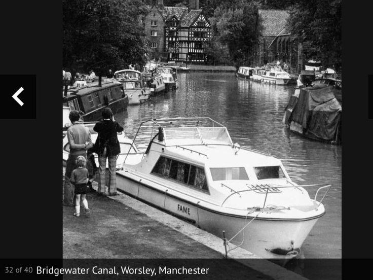 Bridgewater canal at Worsley