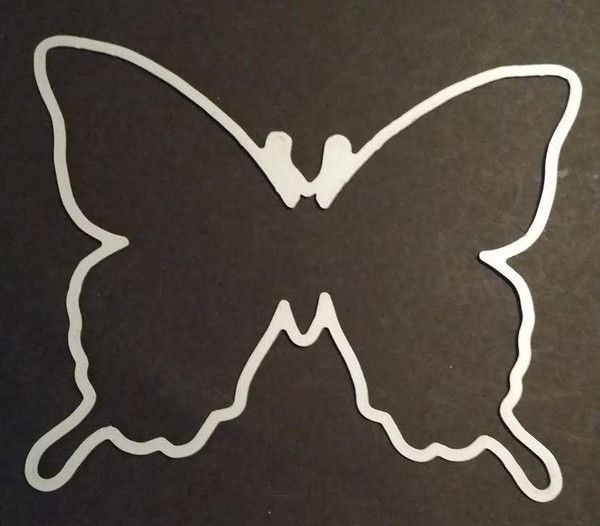 Garden Butterfly $20 - Dies By Dave (Stampin Up Swallowtail)