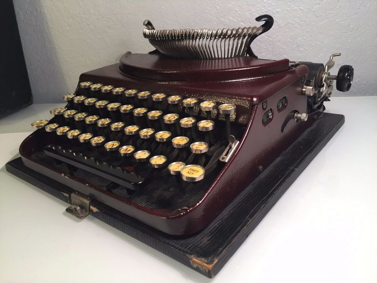 Vintage January 1928 Remington Portable Typewriter w/ Case Model #2 (B) #NP89445 #Remington