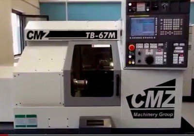 New CMZ TB67 M for sale from CMZ UK. This machine is a small compact turning centre. The machine has driven tools and C axis, it comes equipped with a FANUC control system.If you're after a small lathe for production and prototype machining this machine is ideal. View online at http://www.mtdcnc.com/new-machine-tool-deals/new-cmz-tb67-m-for-sale.asp