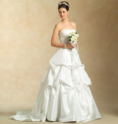 Best M Misses u Lined Top Evening Dress PatternsWedding