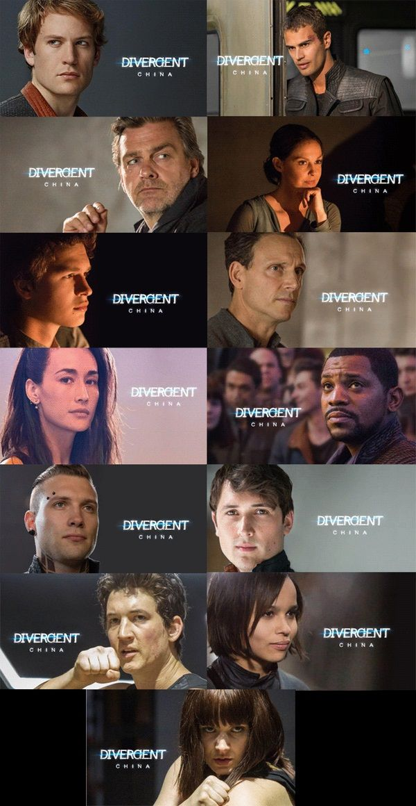 NEW! Divergent Movie STILLS! | The o'jays, Caleb prior and ...