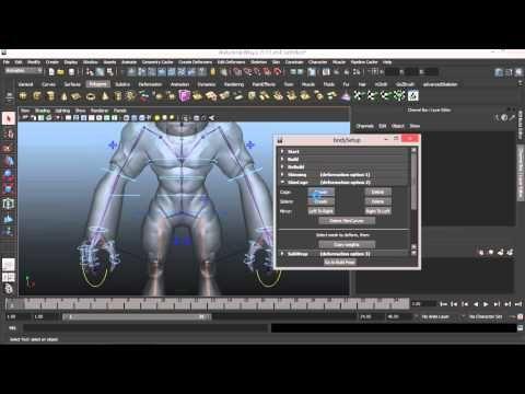 Model Zbrush to Maya - Rigging - YouTube