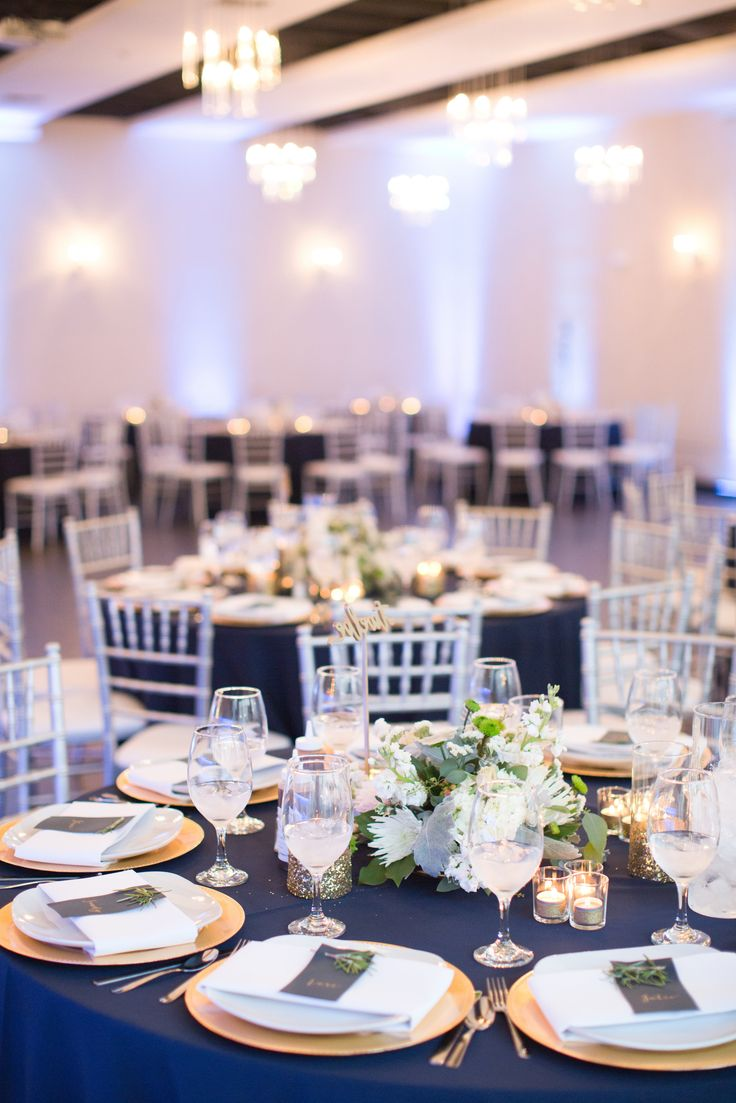 wedding receptions gold coast qld%0A Refined gold and navy reception    View the full wedding here  View the