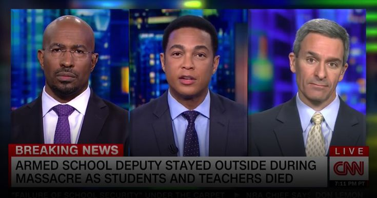 Video: CNN's Van Jones Says Armed Teachers Are More Likely To Use Guns Against Black And Latino Kids