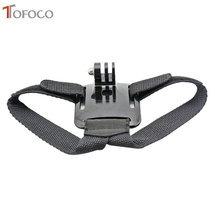 TOFOCO For Gopro Helmet Head Strap Belt Mount Camera Fixed Headband Size Adjustable Anti Skid For. Click visit to buy #tripod