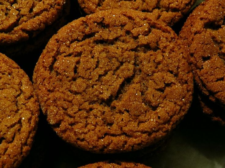 Biscuits gingembre et mélasse aux épices