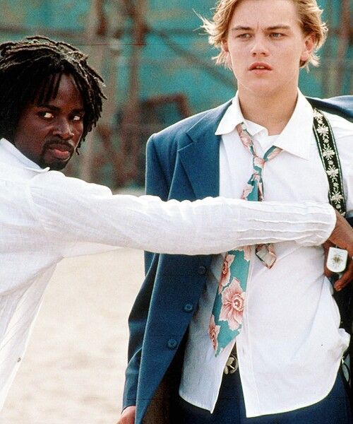 """Romeo + Juliet"" (1996) >> Leonardo DiCaprio & Harold Perrineau 
