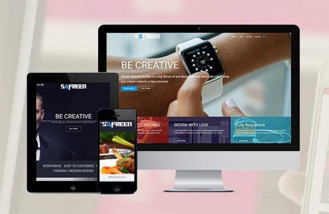 Safreen Creative Agency Wordpress Theme Free Download