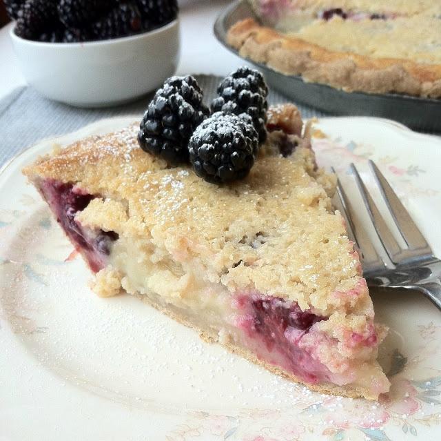 Almacucina: Sauerteig Buttermilch Blackberry Pie   – Outrageous Pies and Tarts