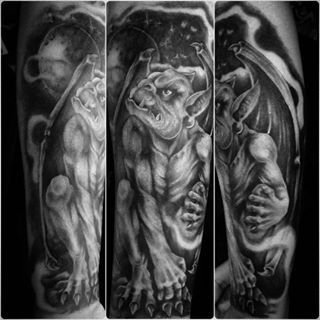 gargoyle gargoyle tattoos pinterest tags. Black Bedroom Furniture Sets. Home Design Ideas