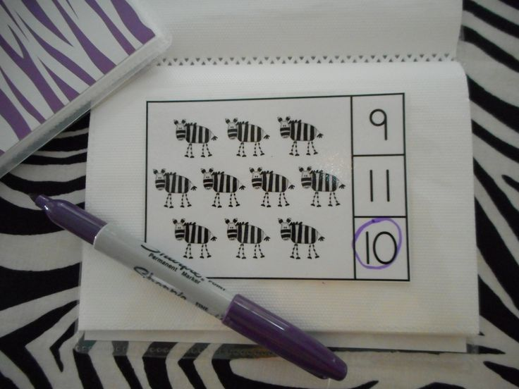 Jungle Jaunt Count and Clip Cards (Sets to 12)  $  Use the cards in a dollar store photo album to make a dry erase activity.     #jungle  #counting  #zebra  http://www.teacherspayteachers.com/Product/Jungle-Jaunt-Count-and-Clip-Cards-Sets-to-12-748718