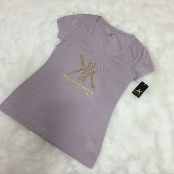 "Kardashian kollection tee t shirt top Kardashian kollection tee, bust 36"" Kardashian Kollection Tops Tees - Short Sleeve"