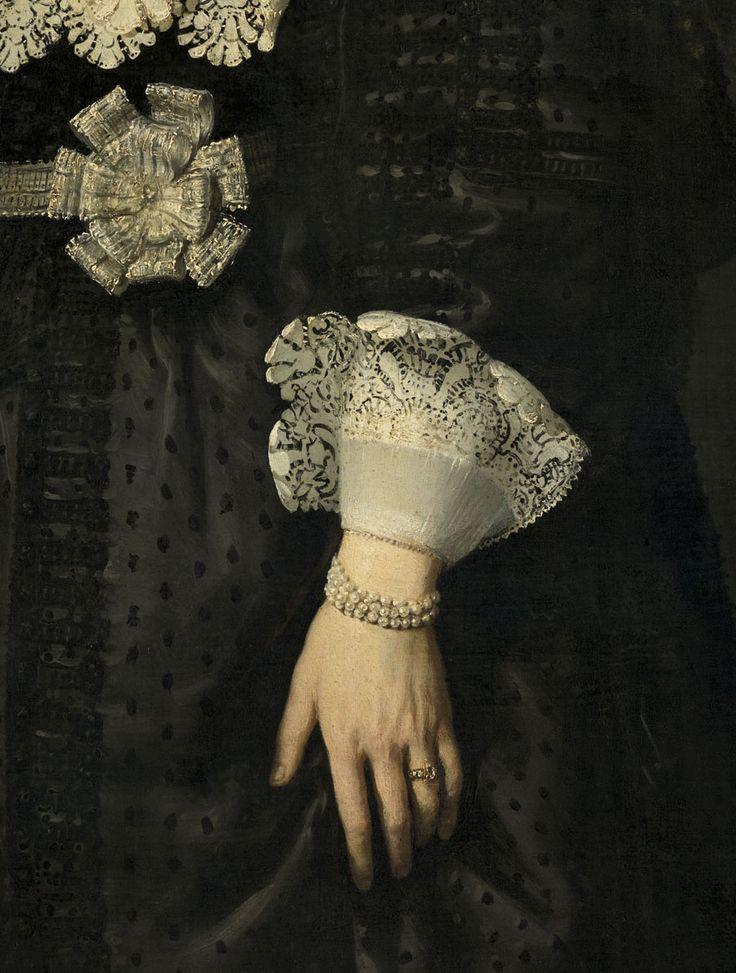Rembrandt van Rijn (1606-1669), Portrait de/of Oopjen Coppit (détail/detail) © RMN-Grand Palais / Mathieu Rabeau