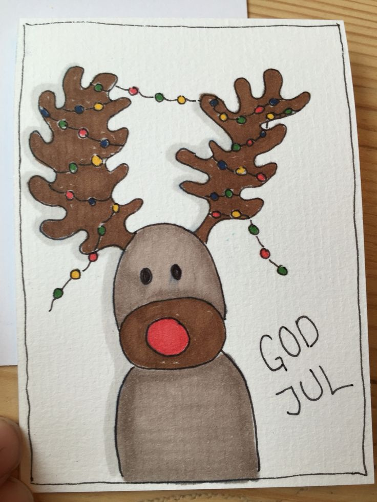 Lille julekort