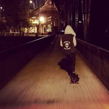 can we just appreciate josh skateboarding pls