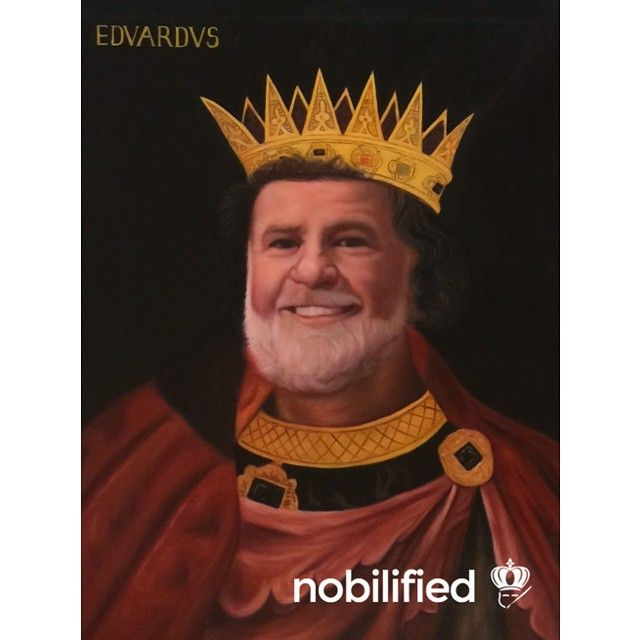 Be the King of your castle! Commission your own masterpiece today at nobilified.com
