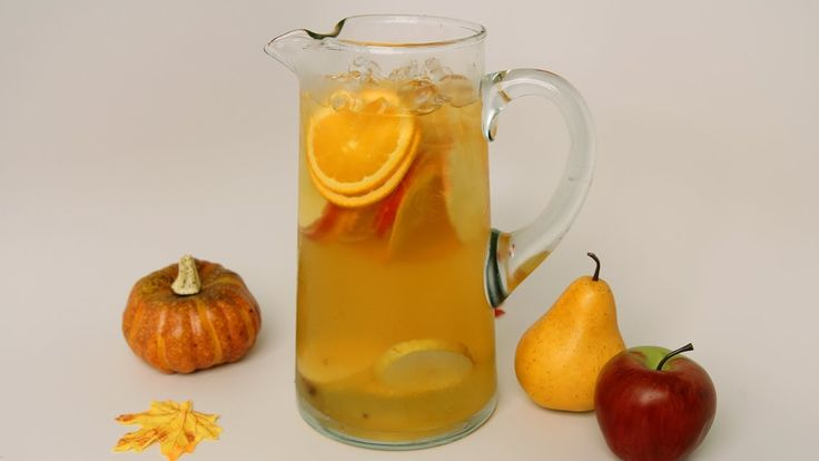Fall Sangria Recipe - Laura Vitale - Laura in the Kitchen Episode 464