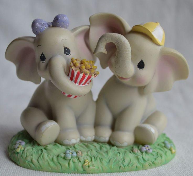 Precious Moments Forget Me Knots 2006 Elephant Figurines