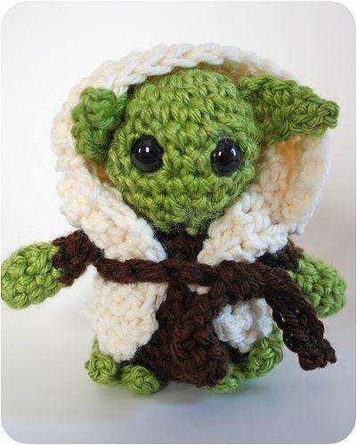 crochet yoda pattern