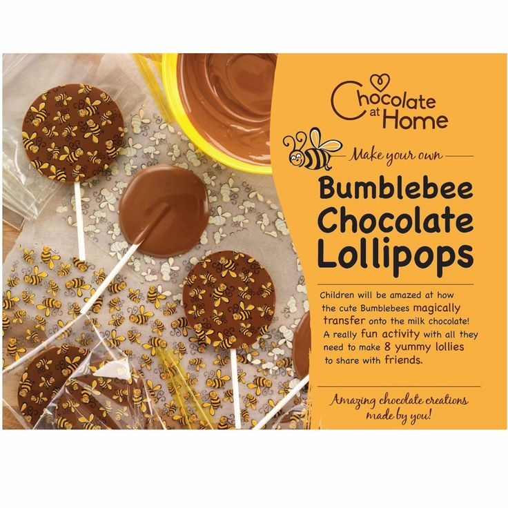 Bumblebee Chocolate Lolly Making Kit Is The Perfect Gift For Kids Age 9 Who Love Eating Yummy They Are Sure To Design Too