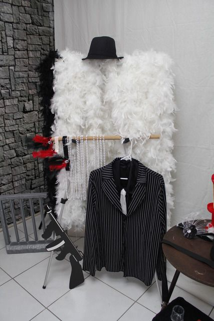 help your guests get into the spirit, offer a dressing area and some costume accessories