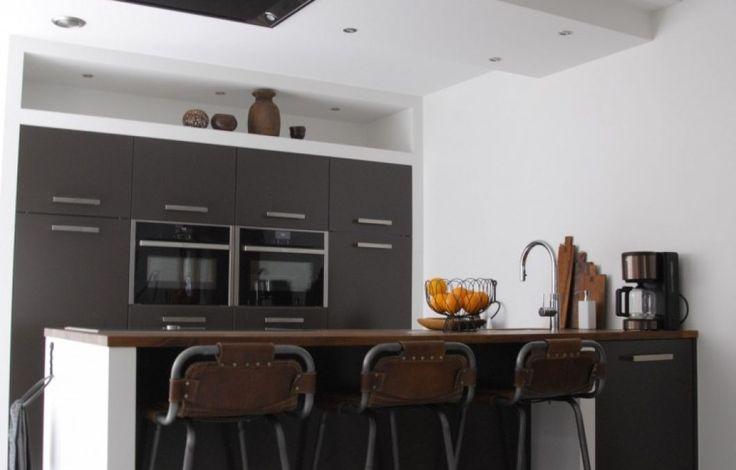 Industriële look en moderne keukens
