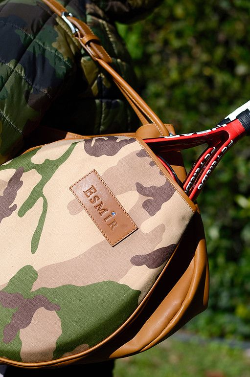 Esmir tennis bag leather tennis with style Exclusive tennis bag collection