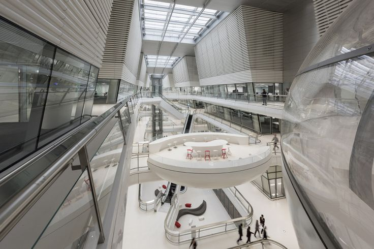 Hankook Tire R+D Centre | Architect Magazine | Foster + Partners, Daejeon, South Korea, Office, Laboratory, New Construction, Office Projects
