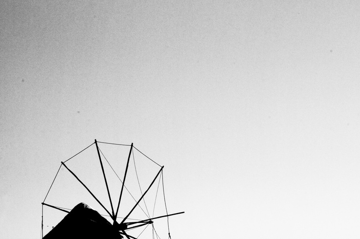 Windmill, Mykonos photo by Effie Koukia, 2012