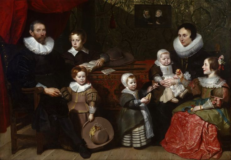1631 Cornelis de Vos - Portrait of Anthony Reyniers and His Family
