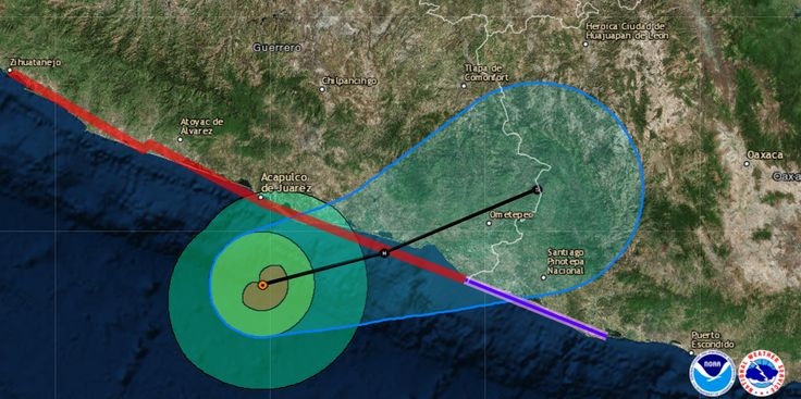 Another hurricane, Max, is headed for Mexico