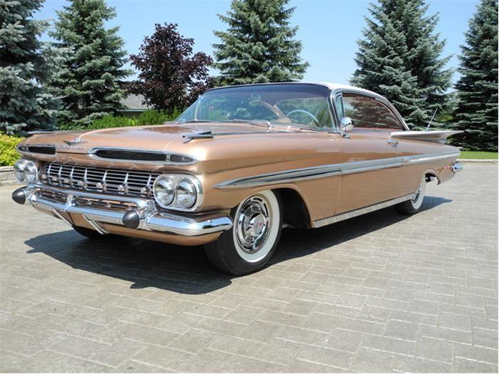 1959 Chevrolet Impala.....i want one!!!