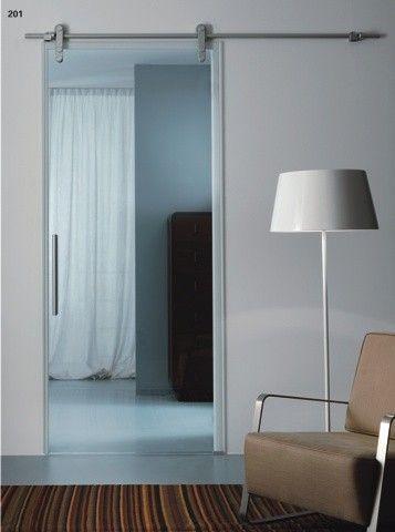 78 best porte coulissante images on Pinterest Sliding doors - fixation rail porte coulissante